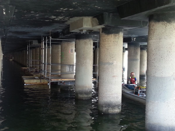 Steel Timber Amp Concrete Pile Repair Marine Pile Jacket