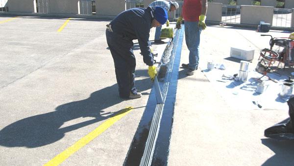 Concrete Expansion Joint Services Slab Joint